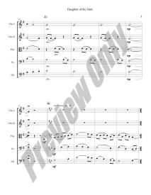 Daughter of the Stars Preview Score p.3