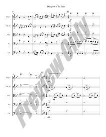 Daughter of the Stars Preview Score p.6