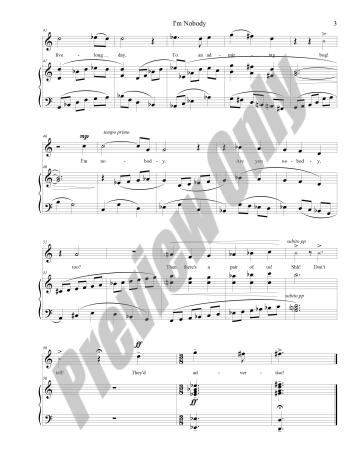 I'm Nobody Preview Score p.3