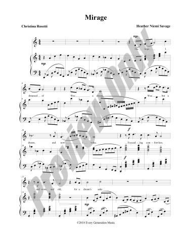 Mirage Preview Score p.1